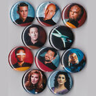 "Star Trek the Next Generation 1"" Pinback Buttons or Magnets set of 10 on eBay"