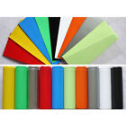 PVC 18650 Heat Shrinkage Cropped Battery Sleeve Insulation Protection Colorful