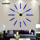muhsein Factory 2019 Wall Clock Acrylic+EVR+Metal Mirror Super Big  Watches Cloc