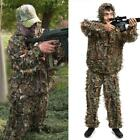 2 Pieces Ghillie Suit Woolland 3D Leaves Camo Camouflage Forest Hunting H1PS 05