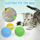 LED Pet Motion Ball Toy Flash Electric Activated Cat Dog Playing Waterproofs