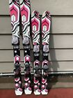 K2 Luv Bug Girls Jr Ski w/ Marker 4.5 Jr Adjustable Bindings GREAT CONDITION