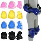 Skating Knee Pads and Elbow Pads + Wrist Guards Protective Gear For Kids Safety image