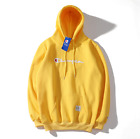 2019 New Women's Men's Classic Champion Hoodies Embroidered Hooded Sweatshirts