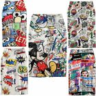 Women Cartoon Print Elegant Skirt Pencil Bodycon High Waist Knee Length Skirt