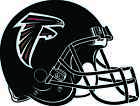 ATLANTA FALCONS HELMET Vinyl Decal / Sticker ** 5 Sizes ** $3.97 USD on eBay