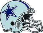 DALLAS COWBOYS HELMET Vinyl Decal / Sticker ** 5 Sizes ** $3.97 USD on eBay