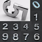 1X Number House Front Door Hotel Flat Shop Numerals Self Adhesive Sticker Digit