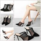Women's shoes, European and American pointed nets, hollow sandals and slippers