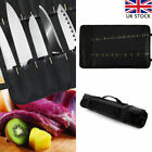 22 Pockets Chef Knife Storage Bag Knives Roll Case Handle Portable Oxford Cloth