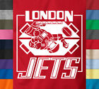 LONDON JETS T-Shirt Red Dwarf Zero Gravity Football Dave Lister Tee Soft Cotton image