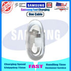 Original Samsung Galaxy Note8 S8 S9 Plus Fast Wall Car Charger 4FT Type-C Cable