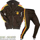 nva trainingsjacke trainigshose trainingsanzug braun neu ddr sportzeug asv retro