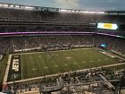 New York Jets vsPittsburgh Steelers Tickets Section 317, Row 12 - 12/22/19
