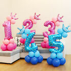 Kyпить  Number Foil Balloons Set Giant Digit Happy Birthday Party Decor Baby Shower US на еВаy.соm