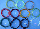 MIDGE SIZE TUBING -- Fly Tying for Bodies Ribbing individual pack or lot
