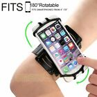 US Rotation Sports Running Jogging Gym Armband Arm Band Case Holder For Phone