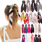 Kyпить Bow Satin Long Ribbon Ponytail Scarf Hair Band Tie Scrunchies Elastic Hair Rope на еВаy.соm