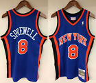 Latrell Sprewell New York Knicks NY Mitchell & Ness NBA Authentic 1998-99 Jersey on eBay