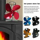Powered Stove Fan Fireplace Fan Ultra Quiet Eco Fan Wooden/Log Burner/Fireplace