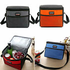 Insulated Lunch Tote Bag Box for Ladies Men Thermos Cooler Hot Cold Food