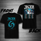 Jinjer Tour Dates 2019 With The Browning T-Shirt Tee exclusive 100%Cotton  image