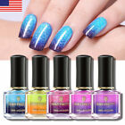 BORN PRETTY Thermal Nail Polish Purple Blue Color Changing Varnish US Stock