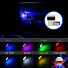 Mini USB LED Car Interior Light Neon Atmosphere Ambient Lamp Light Accessories S