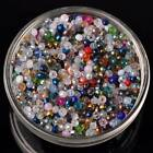 100pcs 3x2mm Rondelle Faceted Crystal Glass Loose Spacer Beads lot Jewelry DIY