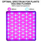 4 Modes LED Plant Grow Lights Full Spectrum Grow Panel Light for Indoor Plants. Buy it now for 22.18