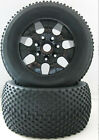 Rubber Black Tires with Wheel Sets 140mm 4P 810011 Fit RC HSP 1:8 Bigfoot Truck