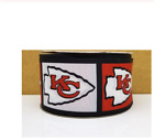 "GROSGRAIN KANSAS CITY CHIEFS FOOTBALL 3"" INCH PRINTED FOR HAIR BOWS $7.4 USD on eBay"