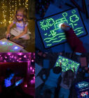 Fluorescent Light Writing Pad Kids Child Drawing Painting Educational Board Toy