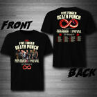 5Five Finger Death Punch with Three Days Grace Tour 2019 T-Shirt Tee exclusive image