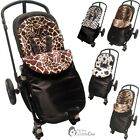 Pushchair Animal Print Footmuff / Cosy Toes Compatible With Baby Home