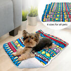 Puppy Dog Bed Mat Small Pets Cage Sleeping Bed Cushion Blanket Soft Warm Fleece