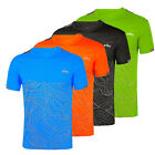 Mens Gym Outdoor Sports Running T-Shirt Quick Dry Fitness Workout Tops Shirt Tee image