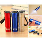 Mini Aluminum UV Ultravlolet LED Flashlight  Black light Torch LightLamFashi PL