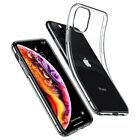Apple iPhone 11, 11 Pro, 11 Pro Max Case Clear [Crystal] Soft Flexible TPU Cover