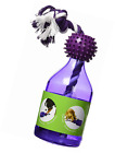 PetSafe Busy Buddy Tug-A-Jug M/L and Interactive Meal Dispensing Dog Toy, Purple