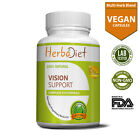 Vision Support Supplement Complex for EYE Health with Lutein Bilberry Lycopene