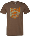 Cleveland Browns T Shirt BAKER MAYFIELD OHIO T Shirt Super Soft Shirt $11.0 USD on eBay