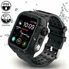 Apple iWatch Series 4/5 Waterproof Case Full Protective & Band Series 3 38/42/44 image