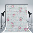 Flowers Photography Background Floral Photo Vinyl Backdrops for Studio Props