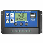 10/20/30A Amp 12V/24V Solar Panel Regulator Charge Controller Battery Dual USB for sale  Shipping to South Africa