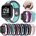For Fitbit Versa 2/Lite Silicone Rubber Replacement Classic Band Strap Wristband image