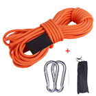 Multi Braided Emergency Rappelling Rock Climbing Rope Strap 10/15/20/30m