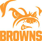 """Cleveland Browns NFL Decal """"Sticker"""" for Car or Truck or Laptop $4.99 USD on eBay"""
