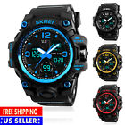 SKMEI Big Dial Digital Men Military Army Water Resistant LED Sport Wrist Watch image