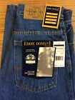 Eddie Domani Denim Jeans Relaxed Fit Zipper Fly Stone - Boys Kids Select Size